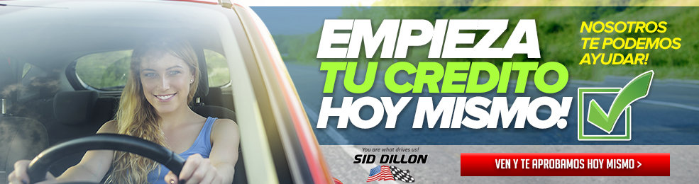 Get approved today@ Sid Dillon
