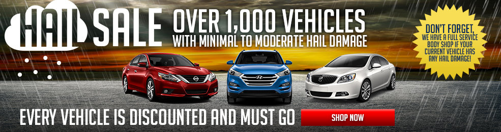 Recieve amazing discounts on our vehicles with our Hail Sales Special at Sid Dillon Lincoln