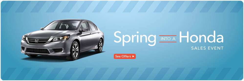 Spring Sales Event Royal Honda