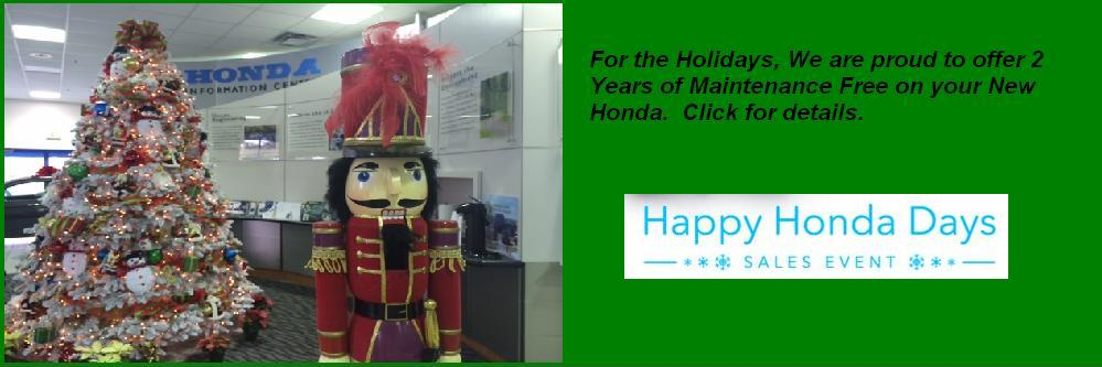 Happy Holidays from Royal Honda