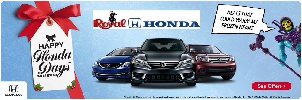 Happy Honda Days Specials