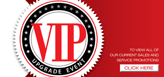 University Toyota VIP upgrade event and sales and service specials