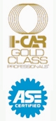 I-Car Gold Class Professionals | ASE Certified