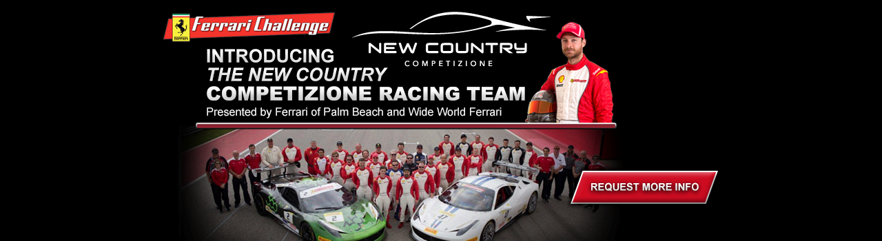 Introducing the New Country Competizione Team!
