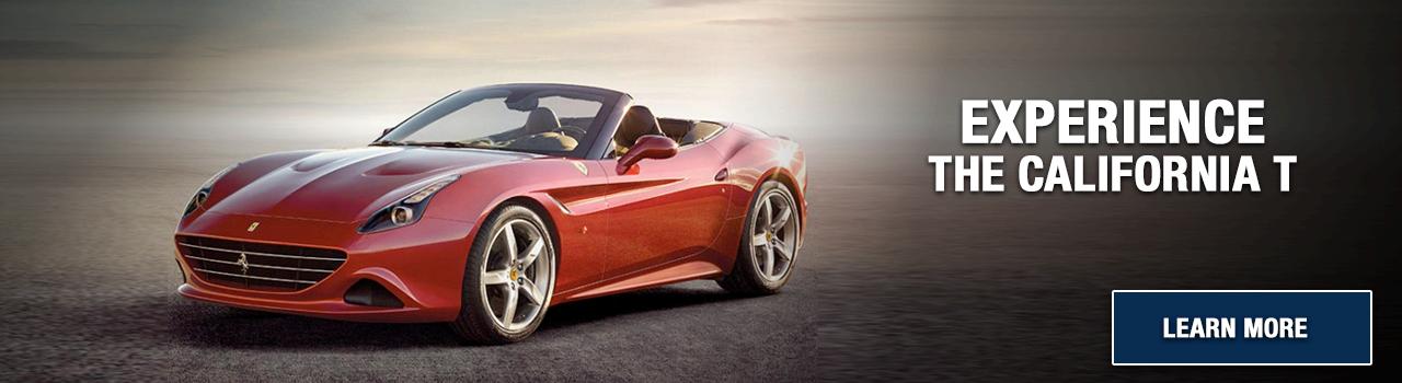 Experience the California T at Wide World Ferrari