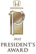 President's Award 2012