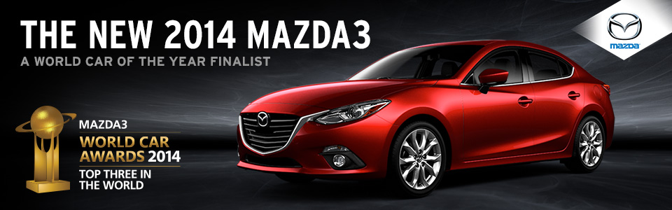 2014 Mazda3 - A World Car of the Year Finalist