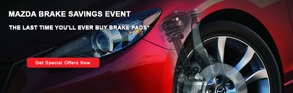 Mazda Brake Savings Event