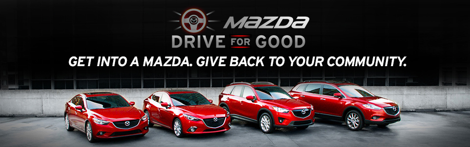 Mazda Drive For Good Promotion