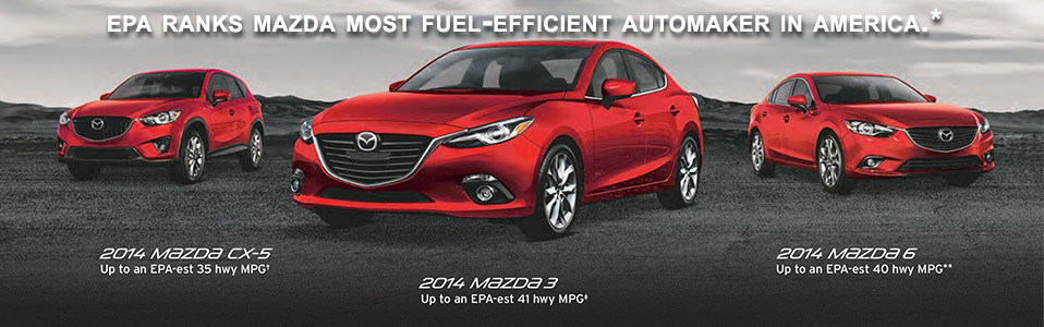 EPA ranks Mazda most fuel efficient Automaker in America