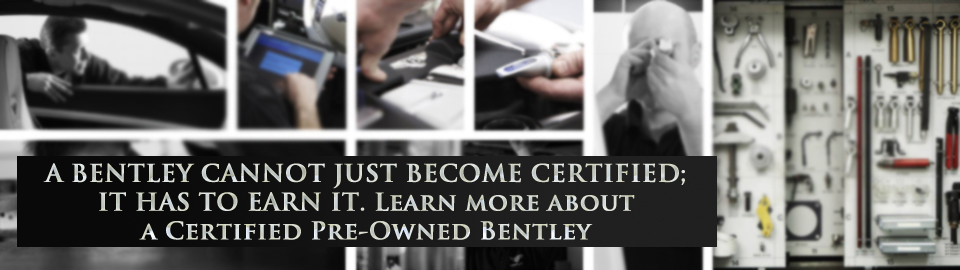 Bentley Certified Pre-Owned