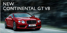 The New Bentley Coninental GT V8