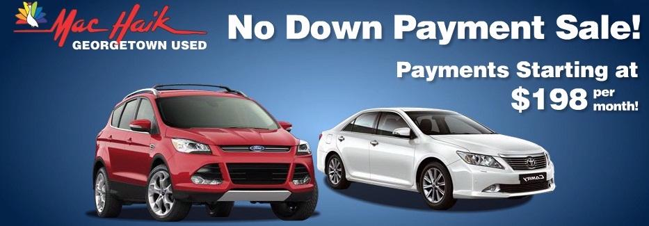 No Down Payment Sale