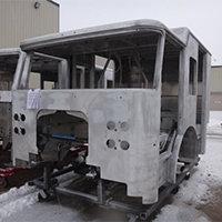 Cambridge MA Pierce Fire Truck in Production