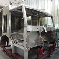 Hampton NH Pierce Fire Truck in Production