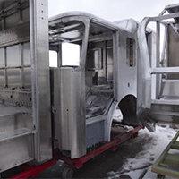 Henniker NH Pierce Fire Truck in Production