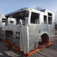 Hyannis MA Pierce Fire Truck in Production