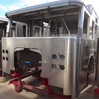 Keene NH Pierce Fire Truck in Production