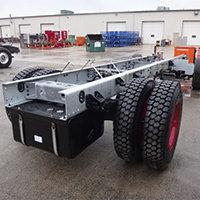 Somerset MA Pierce Fire Truck in Production