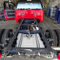 Windsor VT Pierce Fire Truck in Production