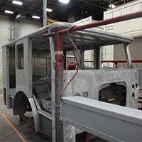 Marblehead MA Pierce Fire Truck in Production