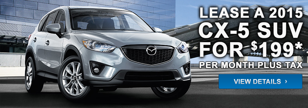 Lease a 2015 CX-5 for $199* per month