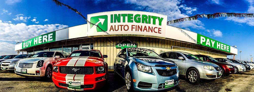 The South I-35 Location of Integrity Auto Finance