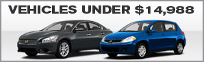 Vehicles Under $14,988