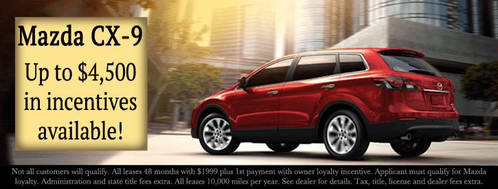 Mazda CX-9 Incentives