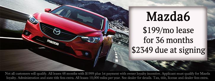 Mazda6 Incentives