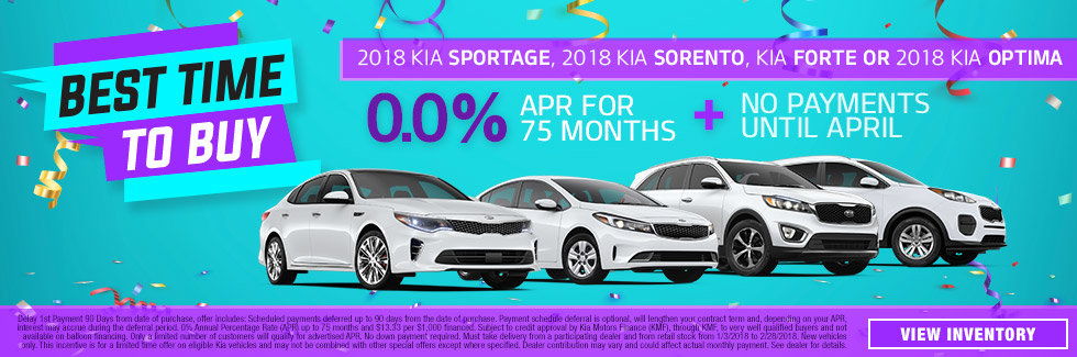 Sportage, Sorento, Forte & Optima Dealer