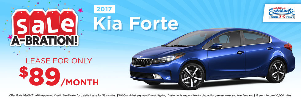 Evansville Kia Sale-a-bration 2017 Kia Forte