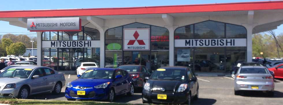 Buhler Mitsubishi at the Jersey Shore