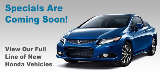 No Vehicle Specials - Please Browse Our Current Inventory