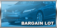 Bargain Lot - Vehicles Under $10,000