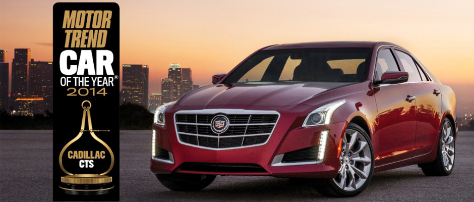 Cadillac CTS Motor Trend Car of the Year