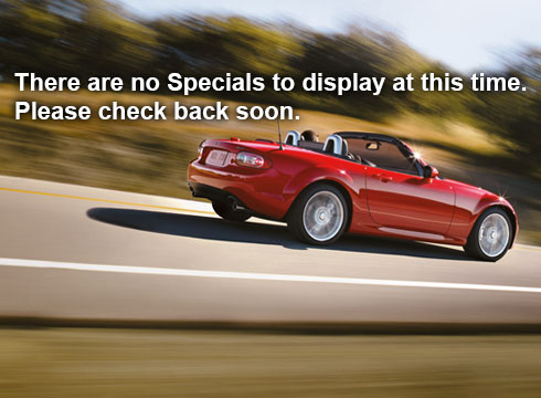 There are no specials to display at this time. Please check back soon.