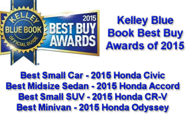 Kelley Blue Book Best Buy Awards
