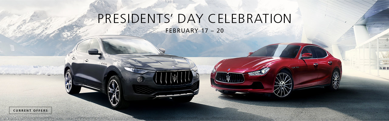 Wide World Maserati President's Day Event