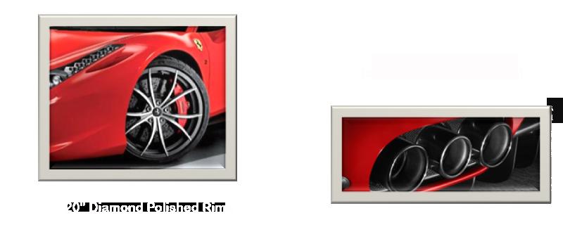 Wide World Maserati Ferrari Factory Accessories