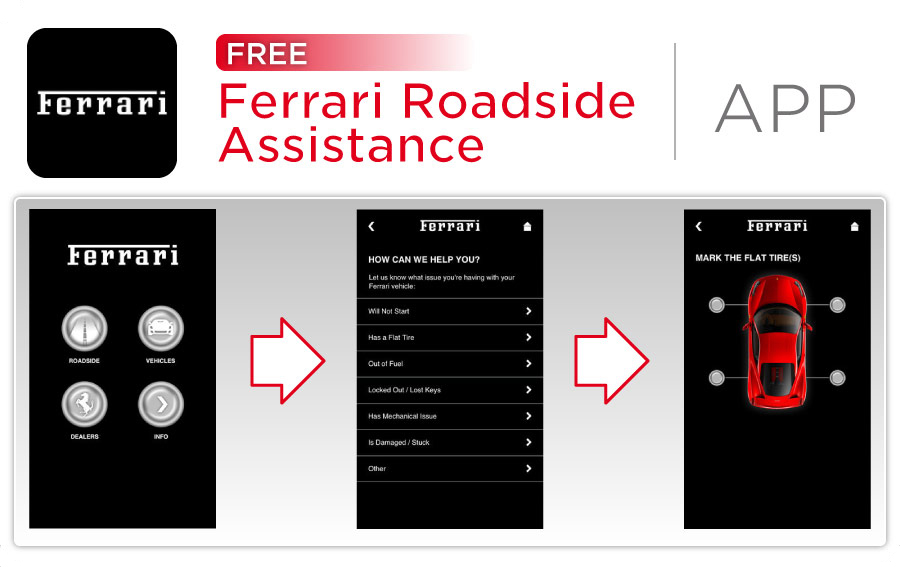 Wide World Maserati Ferrari Roadside Assistance