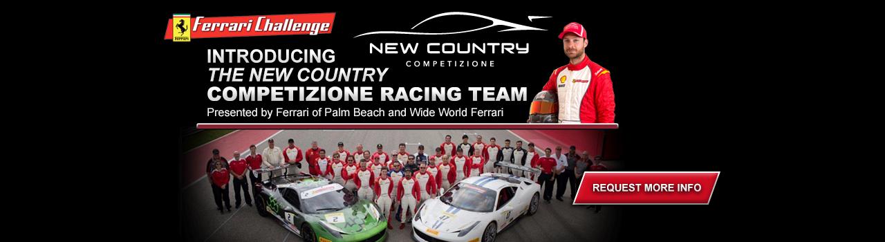 Presenting The Competizione Racing Team