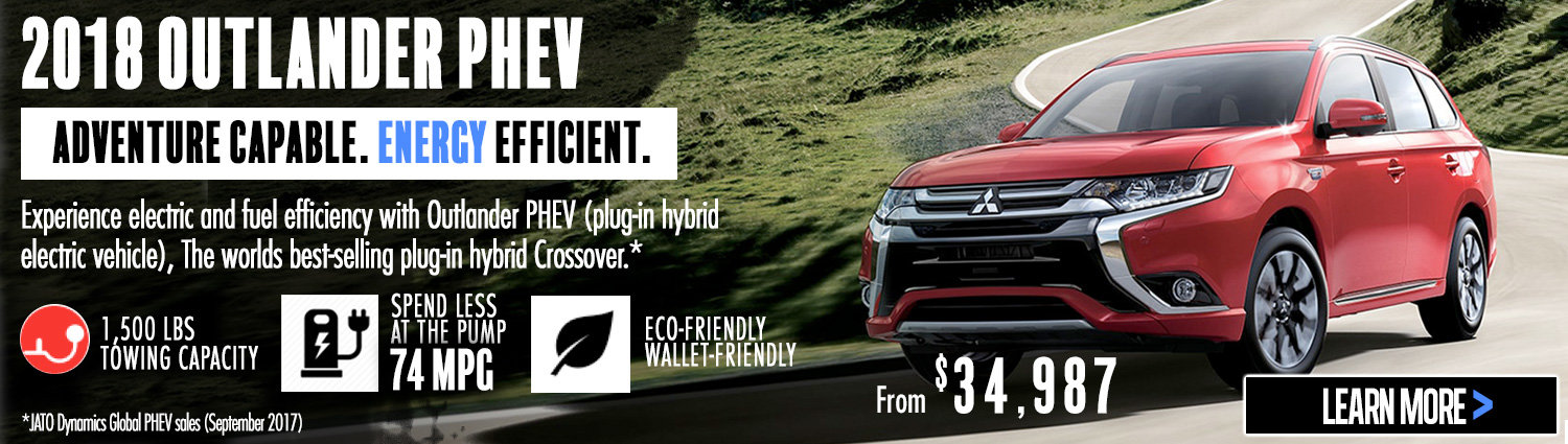 The 2018 Outlander PHEV Has Arrived!
