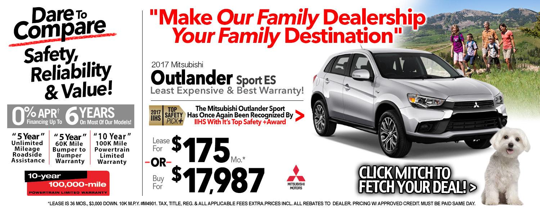 2017 Mitsubishi Outlander Sport ES