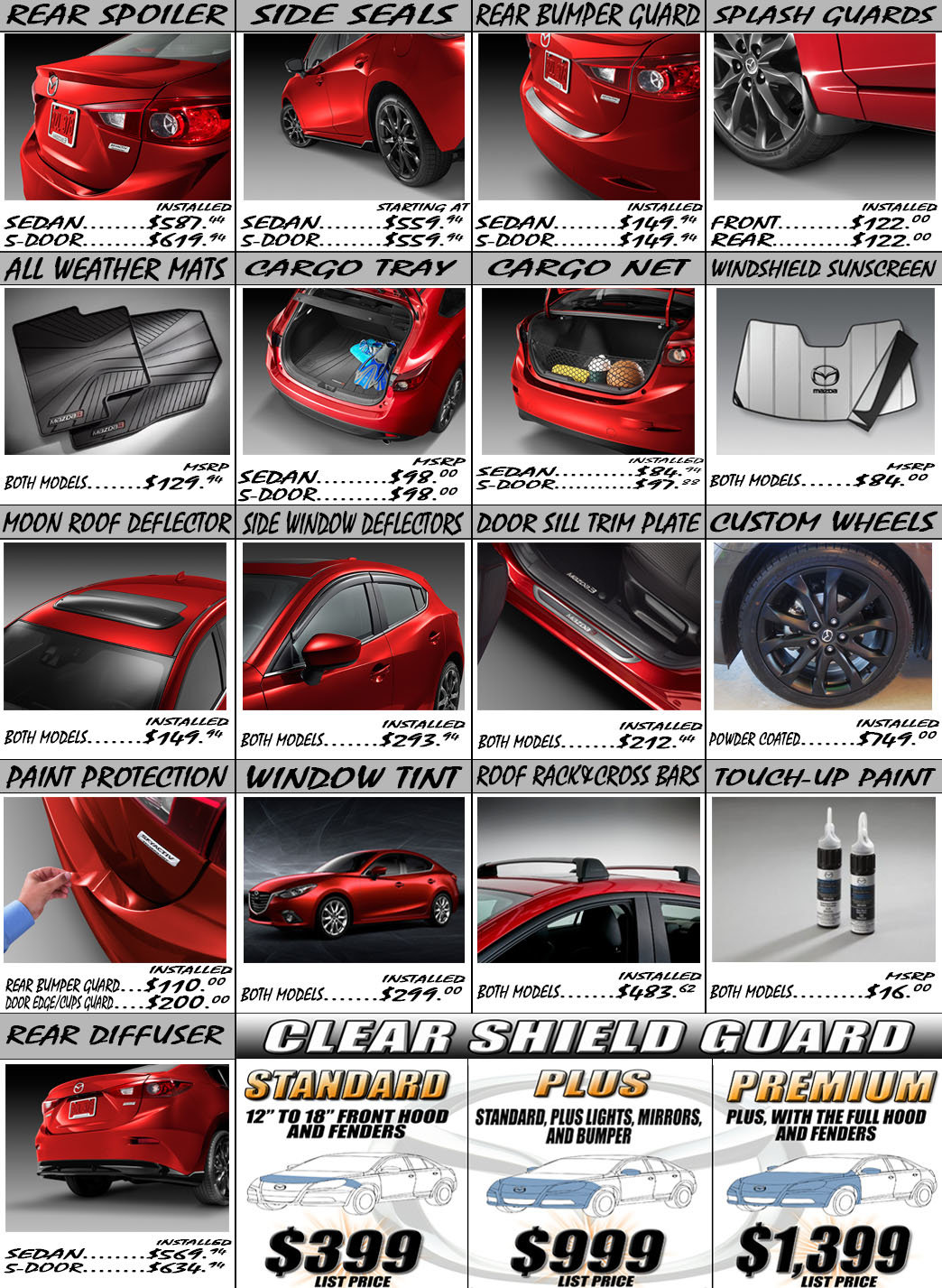 Mazda Dealers Sydney >> Mazda 3 2014 Paint Colours | Autos Post