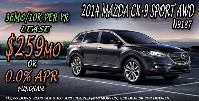 2014 Mazda CX-9 near Salt Lake City