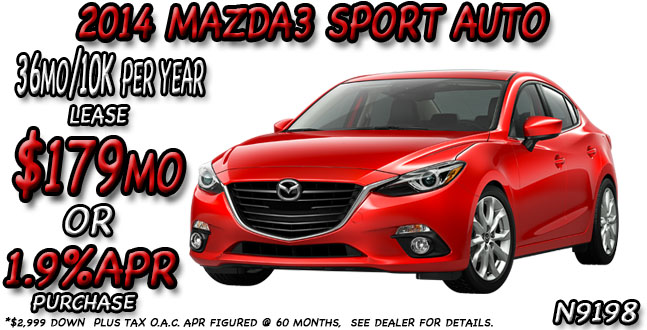 2014 Mazda3 by Salt Lake City
