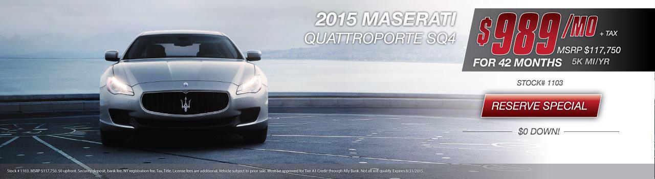 Maserati Quattroporte Special NY