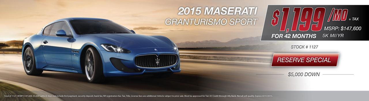 Maserati GranTurismo Sport Special NY