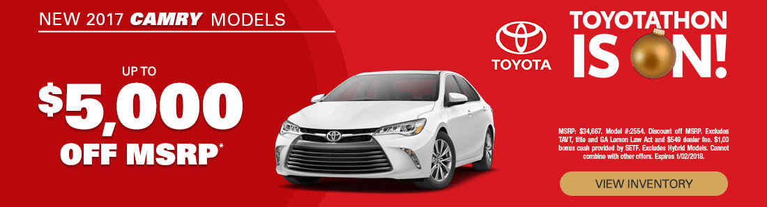 2017 Toyota Camry Sale in Savannah GA